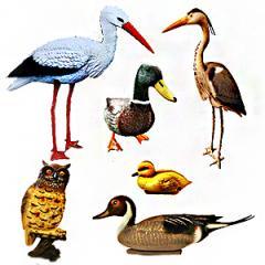 Élethű madarak, madárriasztók