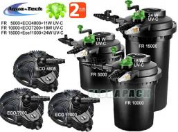 Aqua-Tech FIL-Reset-1 15000 nyomásszűrő szett / DMS001500