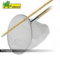 Ubbink Merítőháló bambusz nyéllel, finom szövésű - 150 cm / 1372050