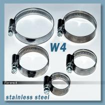 Tömlőbilincs 16-25 / 12 mm W4-SS rozsdamentes - stainless steel  / 100417
