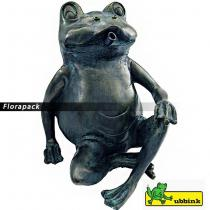Ubbink Béka, ülő ca. 20,5 cm vízköpő figura / 1386073