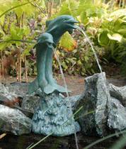 Ubbink Delfinpár 2 ca. 51 cm vízköpő figura / 1386075