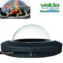 KOI dóm - átlátszó gömb, halak megfigyelésére - Mérete: