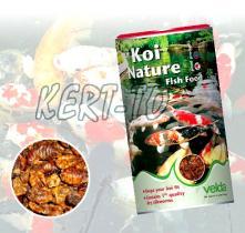 Velda Koi Nature Extra haleledel - szárazon gőzölt selyemhernyók - 1250 ml / 124350