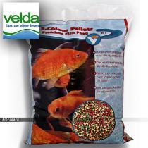 Velda Premium 3 színű gömbölyű haleledel 6 mm 15 Liter / 144450