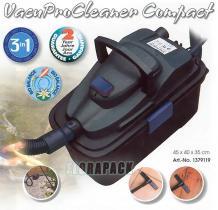 Ubbink VacuProCleaner Compact tóporszívó, iszapszívó 800-1000 Watt / 1379119