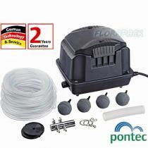 Pontec PondoAir Set 1800 tólevegőztető légpumpa szett / 43109
