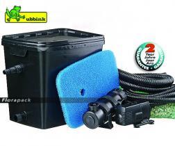 Ubbink FiltraPure 4000 Plus gravitációs, átfolyós szűrő szett / szűrő Xtra 1600 + 11 W UV-C / 1355971