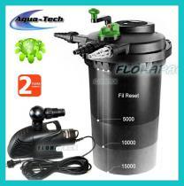 Aqua-Tech FIL-Reset-2 15000 nyomásszűrő szett / DMSH001500