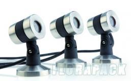 Oase Lunaqua Maxi LED 3W Set 3 vízalatti világítás / 50508